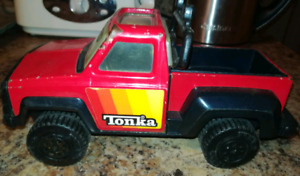 1979 Collectible Tonka Red Metal & Plastic Truck
