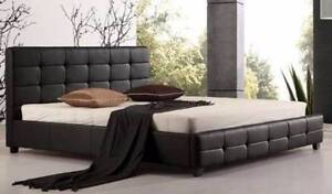 Brand New Ella Full Pu Leather Queen Bed. Mattress Not Included Seven Hills Blacktown Area Preview