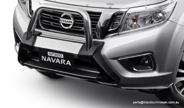 genuine nissan navara nudge bar fitting instructions