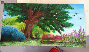Summer and Winter Landscape Paintings Peterborough Peterborough Area image 2