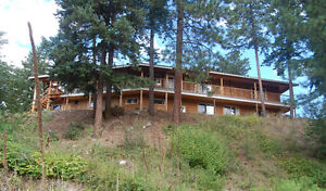 WATERFRONT 3Bd/3Bth 3600+sq/ft Log Home on Acreage