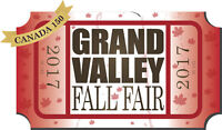 Vendors Wanted for Grand Valley Fall Fair 2017