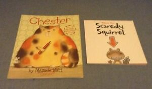 Chester and Scaredy Squirrel by Melanie Watt London Ontario image 1
