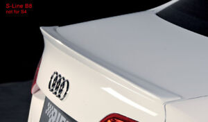 Reiger Roof/ Trunk Spoiler for B8/ B8.5 Audi A4