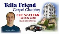 Tellafriend carpet upholstery tile cleaning 604 522 5326