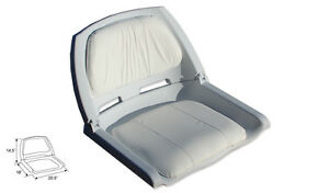 Fold Down fishing Boat Seat. Boat seat High impact plastic frame
