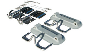 Snap Davits for Inflatable for attaching boats to swim platform