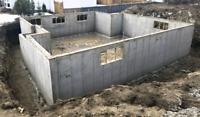 Basement services for new home builders