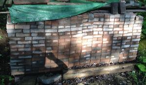 Used interlocking pavers 4x8 stones and wall blocks