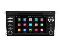 Porsche Cayenne Car DVD Stereo Head Unit GPS Sat Nav DAB+ 4G 8-Core New Android 6.0
