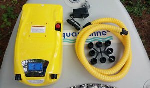 NEW! Pump For Inflatable Boats with Digital Control and Battery