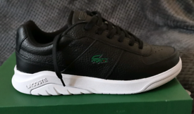 Men's lacoste game advance trainers size 9