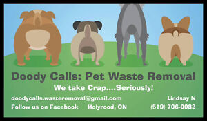 Doody Calls: Pet Waste Removal