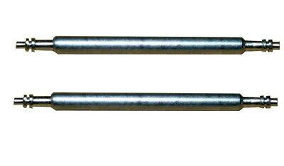 Federsteg Federstift Uhrensteg Stegbreite 17mm (Gesamtlänge 20mm) 2 Stück (0100) (Stift Feder)
