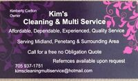 Looking for reliable cleaner Midland,Penetang