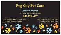 Peg City Pet Care - Professional Dog Walking & Pet Care Services