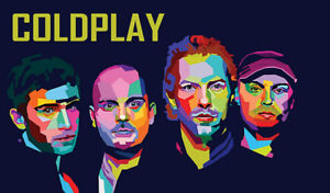 Coldplay - Rogers Place - Floor Tickets