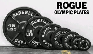 Olympic weights and bar