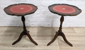 Pair Of Wine Tables (DELIVERY AVAILABLE)