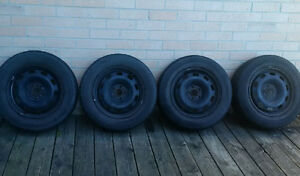 Set of 4 original VW rims - NEW PRICE!