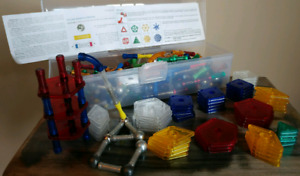 GeoMag Panels Construction System Magnetic Building Toy Set
