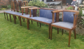7 piece dining room chairs with upholstery material
