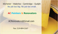 Painters Available for Quality Interior Exterior Paintings