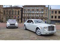 Rolls Royce Phantom Hire, wedding car hire, limo hire, hummer limo hire bradford