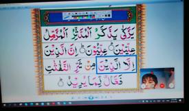 Quran Classes, Tajweed Classes, Learn Quran Reading with Tajweed