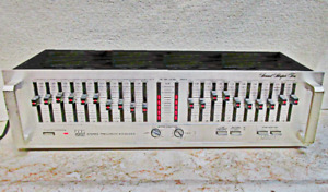 ADC Sound Shaper Ten 10 Band Stereo Graphic Equalizer