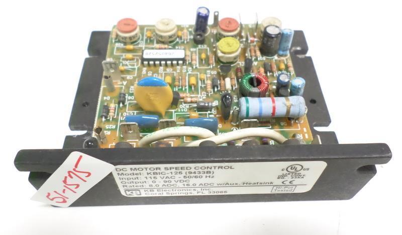 KB DC MOTOR SPEED CONTROL KBIC-125