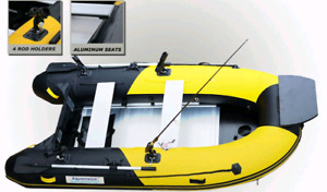 New! Aquamarine 10 ft INFLATABLE FISHING BOAT DELUX Series