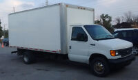 2005 Ford E450 Super Duty with 16ft box