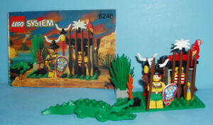 ANCIEN LEGO PIRATES no 6246, LA CAGE du CROCODILE
