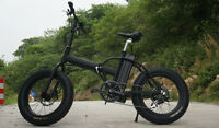 "20"" Fat Tire Folding ELECTRIC BIKE"