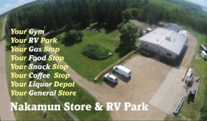 CAMPSITES AVAILABLE  LESS THAN HOUR FROM EDMONTON