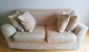 Sofabed+4 free feather filled cushions