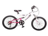 """Muddyfox 20"""" girls push bike new"""