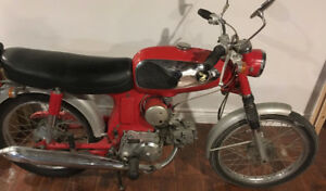 1965 early model Honda S90