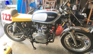 1980 XS650 cafe racer project bike -