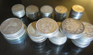 Wanted Canadian & U.S.A. Coins, Banknotes, Stamps & Tokens.