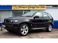 BMW X5 3.0d auto 2005 Sport 56,657 Miles In Black