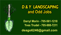 D and Y landscaping