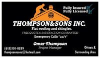 SubContractor Flats and shingles!