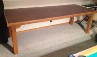 Solid Oak - oversized table - CUSTOM BUILT