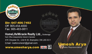 Buy / Sell / Rent a House Or Condo Today 647-406-7492