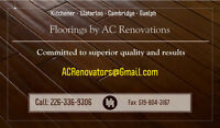 Floorings & Carpets by AC Renovators Call now for FREE ESTIMATE