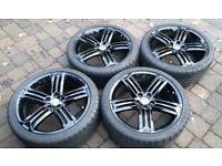 18 inch golf r talladega alloy wheels 5x112 vw Audi A3 Skoda 8j 225/40/18