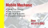 Mobile mechanic available today!