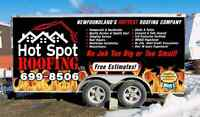 Hot Spot Roofing Ltd! FREE ESTIMATES and servicing island wide!